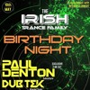 Paul Denton @ Intense Clubnight pres. Irish Trance Family Birthday Night, Voodoo Lounge, Arran Quay, Dublin 2017-05-19 Artwork
