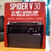 Line 6 Spider V30 Mic'ed with Bass All the Way Up