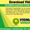 Download Vidmate Downloader For Windows