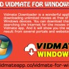 Download Vidmate For Windows Devices
