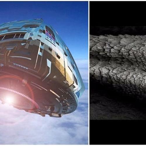 UFO 飛走後留下地球沒有的『外星物體』! LEAKED Area 51 UFO
