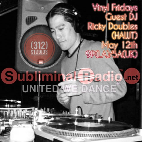 Ricky Doubles Guest Mix // Vinyl Fridays on Subliminal Radio // 12 May 2017