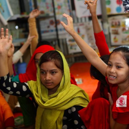 Cartooning for Girls in STEM in Bangladesh