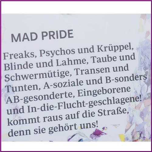 Mad Pride Parade Köln 2017