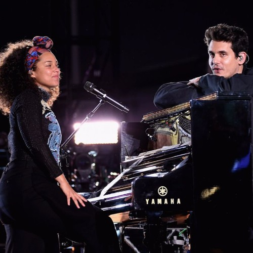 Alicia Keys and John Mayer - If I Ain't Got You/Gravity by ...