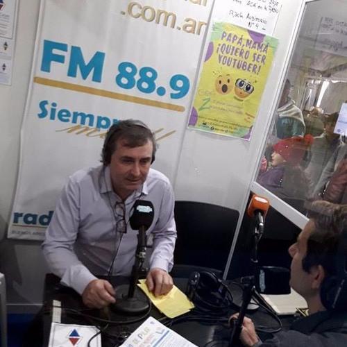 Escritor GUILLERMO SILVA-Presentación nuevo libro- EN RADIOMASPILAR