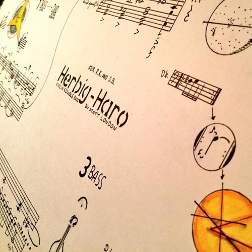 Herbig - Haro for Violin and Double Bass