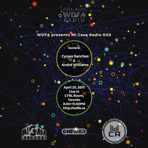Andre Williams @ Micasa Radio EP5 - APril 25 2017