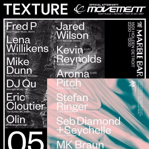FRED P @ Texture // Official Movement Afterparty (Detroit)