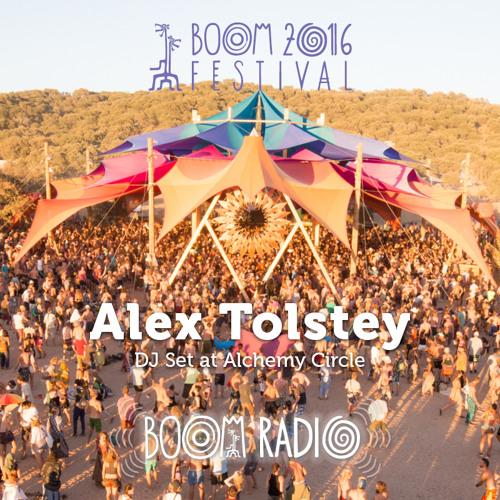 Alex Tolstey - Alchemy Circle 18 - Boom Festival 2016