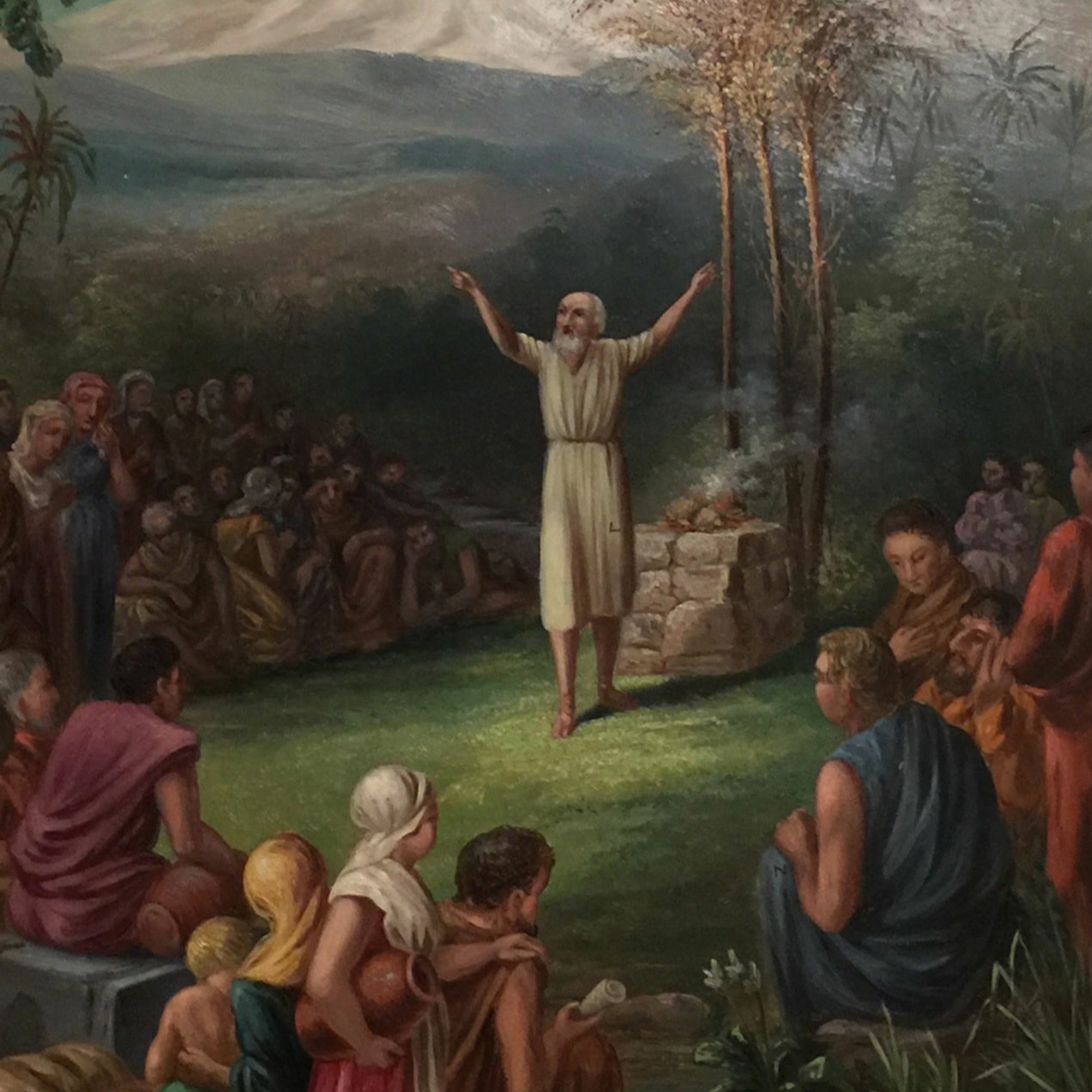 Why Did Lehi Divide His People Into...