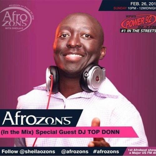 May 28th DJ TopDonn AFROZONS Mix On Power 92 3FM [14 Mins