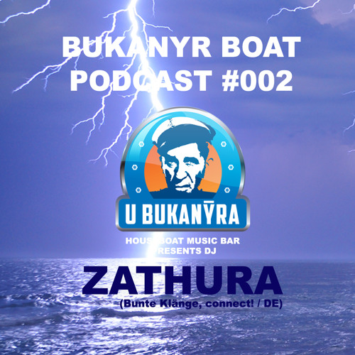 Bukanyr podcast 002 - Zathura (special mix for 14 Anniversary of Vlny night)