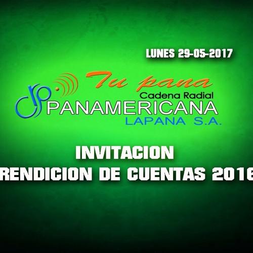 INVITACION RENDICION DE CUENTAS 2016
