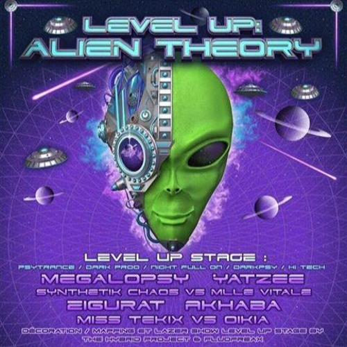 Deep & Dark ( DJ set @Level UP : Alien Theory w/ Megalopsy, Synthetik Chaos & more..) // May 2017