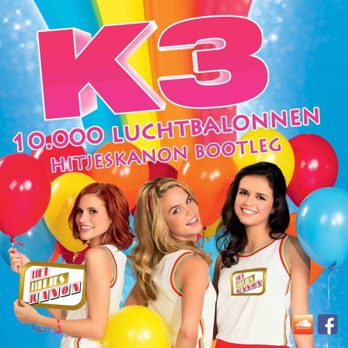 k3 - 10.000 luchtballonnen (hitjeskanon remix) *soundcloud filtered