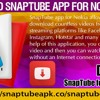 Download SnapTube app For Nokia phone.mp3