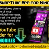 Download SnapTube App For Windows Phone