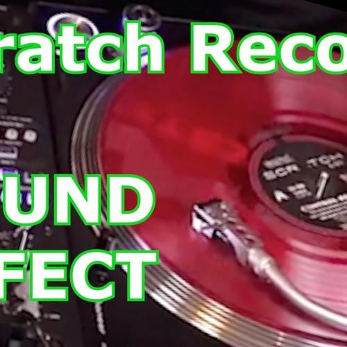 Scratch Record Dj Vinyl Scratching Sound Effect By