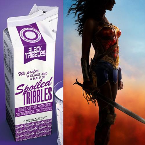 SPOILED TRIBBLES - Wonder Woman