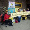 Knitting Nannas Cast off Adani and Divestment in Council