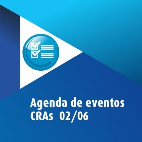 Agenda de eventos CRAs 02/06