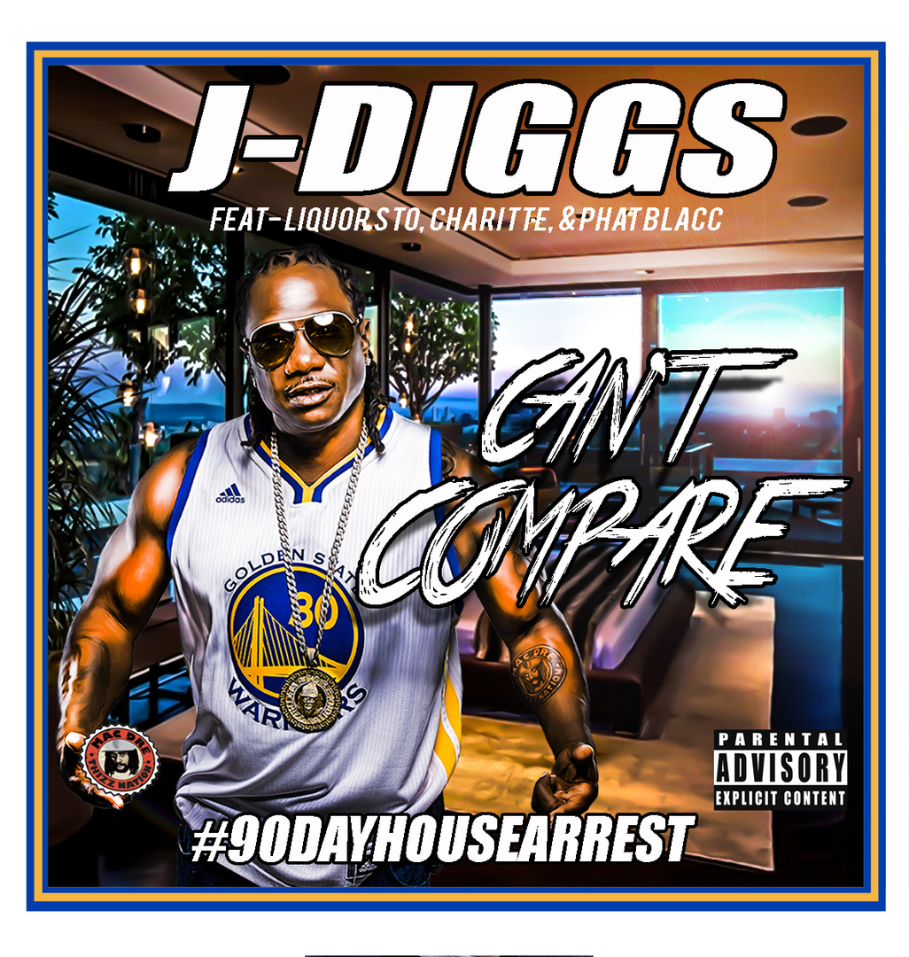J-Diggs ft. Liquorsto, Charitte & Phat Blacc - Can't Compare [Thizzler.com Exclusive]