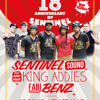 18th Anniversary Sentinel Sound - Dubs Full Hundred feat. Sentinel, King Addies & Citylock 5.2017