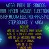 DESCARGAR MEGA PACK DE SONIDOS PARA HACER MÚSICA ELECTRÓNICA ESPECIAL 1K SUBS