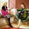 Two voices one song Barbie and The Diamond Castle [cover]