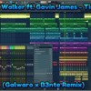FREE FLP: Alan Walker ft. Gavin James - Tired (Galwaro x B3nte Remix)