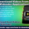 Download Videos From Voot With Videoder Application