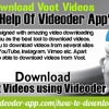 How To Download Voot Videos With The Help Of Videoder App