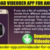 Download Videoder App For Android