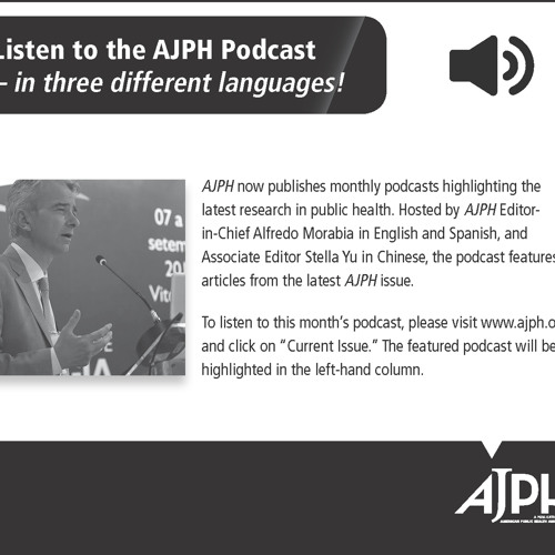 AJPH Highlights of the April 2017 issue (ENGLISH)