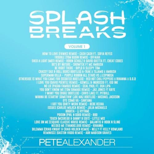 SPLASH BREAKS VOL. 1 - PETE ALEXANDER