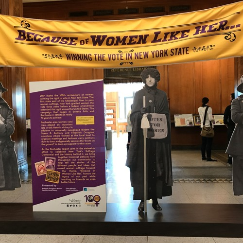 Roc Suffrage Speeches for Exhibition at Rochester Public Library 6/2/2017-10/14/2017