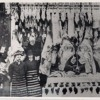 Opening butcher's; helping in the business; customers including Lord Rayleigh (SA 59/1/42/1 Side 1)