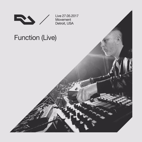 RA Live: 27.05.17 - Function, The RA Underground Stage, Movement Detroit