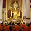 Monks Chanting Wat Phra Singh, Chiang Mai