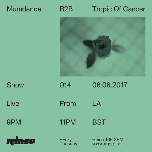 Mumdance B2B Tropic Of Cancer - 6th June 2017
