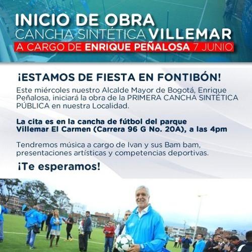 INVITACIÓN ALCALDE MAYOR PARQUE VILLEMAR