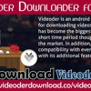 Videoder Downloader For PC