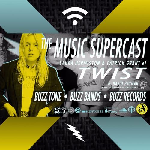 025 - TWIST w. LAURA & PAT! • BUZZ TONE, BUZZ BANDS & BUZZ RECORDS