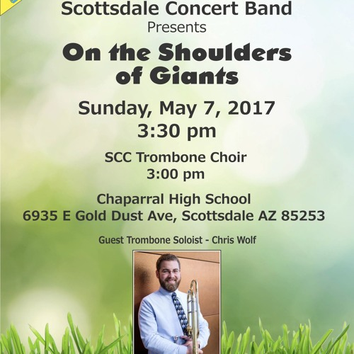 """""""On the Shoulders of Giants"""" May 7, 2017"""