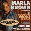 Marla Brown Interview ::: UK/JA Reggae ::: Roots'n'Kulcha Radio ::: June 8th, 2017