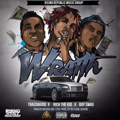 TRAEDAKIDD - Wraith Ft. Rich The Kid & Bay Swag (Prod By Mexiko Dro)