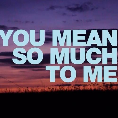 Adam Eklund - You Mean So Much To Me