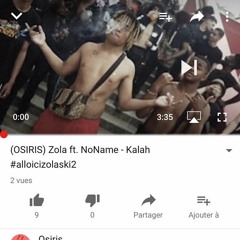 (OSIRIS) Zola Ft. NoName - Kalah  #alloicizolaski2