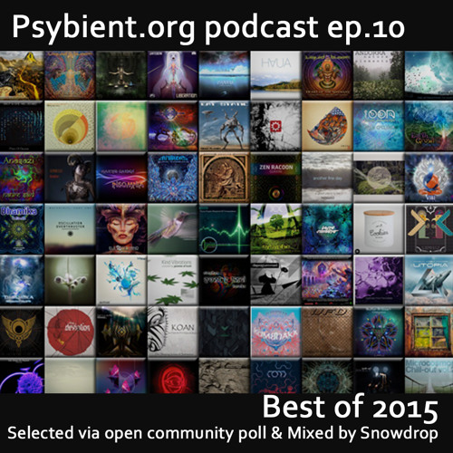 psybient.org podcast episode 10 -  Best of 2015 mixed by Snowdrop